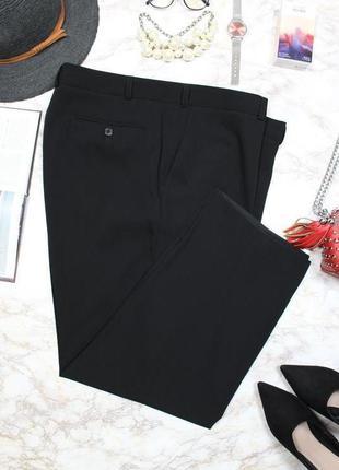 Обнова! брюки штаны классика зауженные укороченные черные новые бренд2