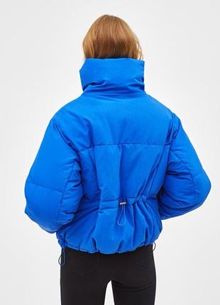 Объёмная стеганая куртка bershka2