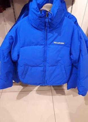 Объёмная стеганая куртка bershka3