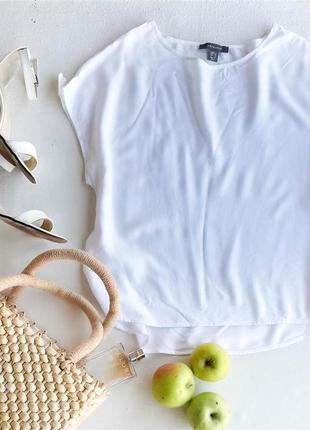 Белая футболка блуза primark1