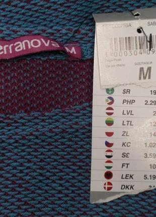 Классная кофта оверсайз женская свитшот итальянского бренда terranova р. м3