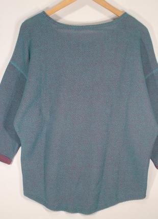 Классная кофта оверсайз женская свитшот итальянского бренда terranova р. м2