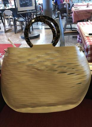 Кожаная сумка zara3