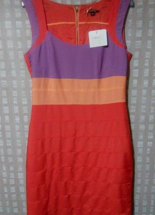 Яркое стильное платье comma с молнией на спинке1