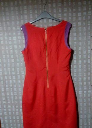 Яркое стильное платье comma с молнией на спинке3