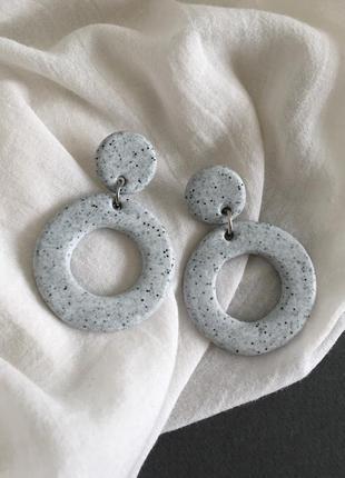 Серёжки кольца, серьги, сережки колечка1