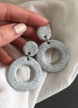 Серёжки кольца, серьги, сережки колечка2