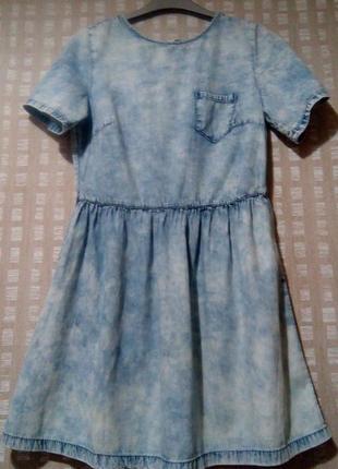 Платье из 100% коттона от denim&co1