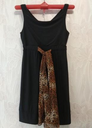 Чёрное платье zoi women2
