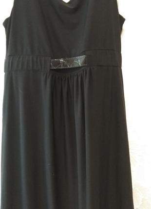 Чёрное платье zoi women6