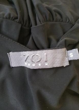 Чёрное платье zoi women8