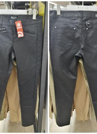 """Абсолютно новые черные штаны с напылением фирмы """"clullium""""1"""