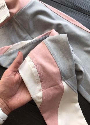 Новые с этикеткой лосины oysho спортивные фитнес леггинсы розовые1