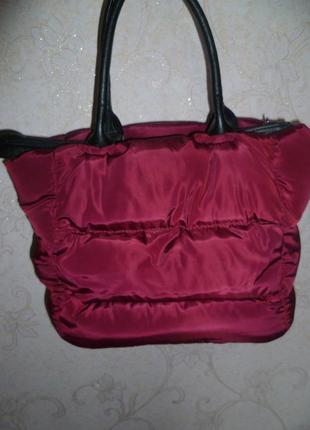 Сумка, стеганная спортивная сумка, жіноча сумка1