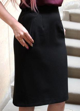Базова чорна спідничка sarah hamilton1
