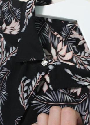 Шикарная блуза в цветочный принт.4
