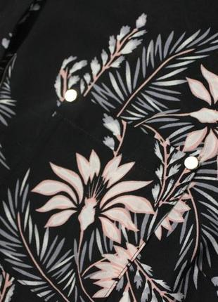 Шикарная блуза в цветочный принт.6