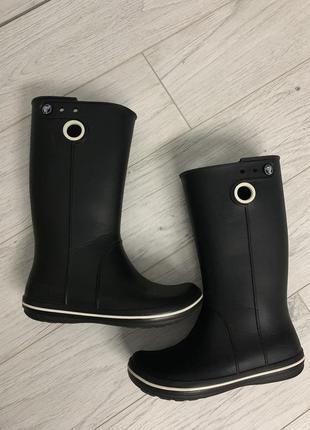 Женские сапожки крокс - crocs jaunt women's boots2