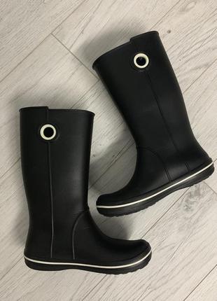 Женские сапожки крокс - crocs jaunt women's boots3