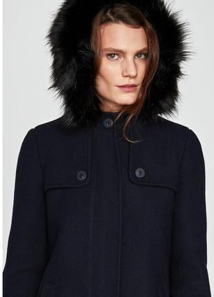 Демисезонное пальто zara basic3