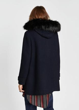 Демисезонное пальто zara basic4