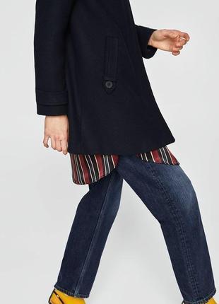 Демисезонное пальто zara basic6