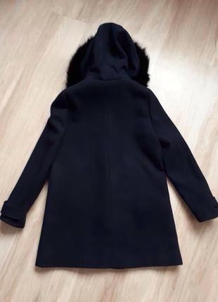 Демисезонное пальто zara basic7