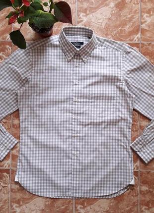 Рубашка mcneal ,полу приталенная,m(50).