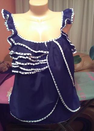 Симпатична я летняя блуза от peopie s market1