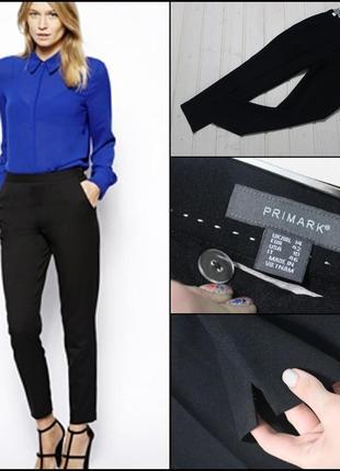 Primark.базовые черные брюки.1