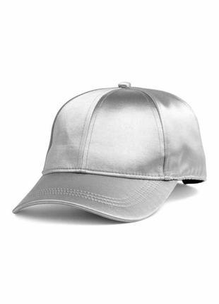 Супер стильная серебристая блестящая кепка accessorise!!!1