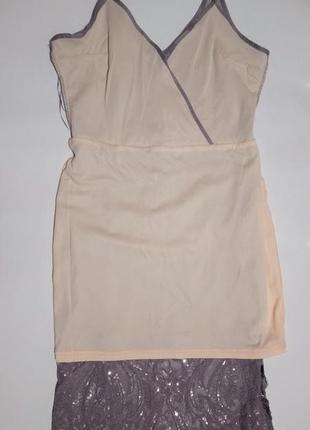 Нарядное платье пайетки quiz5 фото