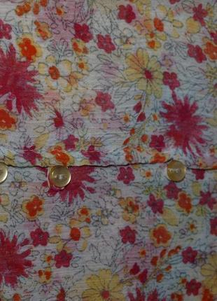 Шифоновая милая блузочка zara s6