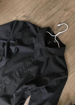 Чорна сорочка h&m4