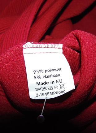 Красное прямое платье ботал!!! (46-48 евро)4