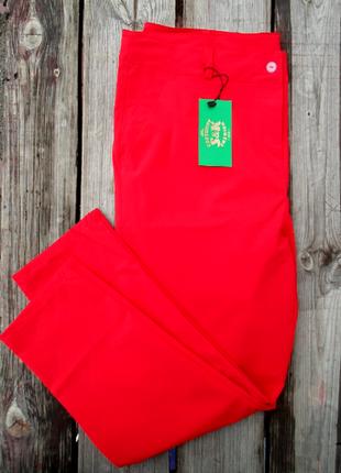 Укороченные повседневные брюки леггинсы безупречная посадка с42по58р-14 цветов3