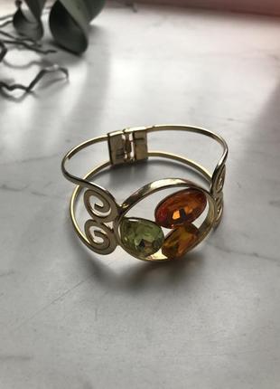 Золотистый браслет1