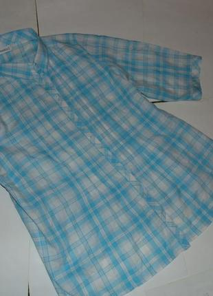 Натуральная блуза ботал!!!  очень большого размера 56-587