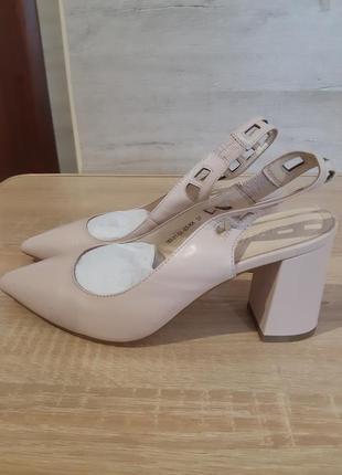 Кожанные туфельки1
