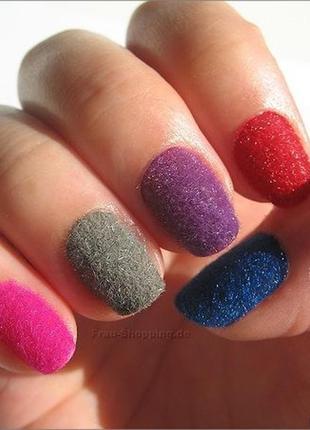 Бархат для дизайна ногтей,песок,пудра,флок,велюр,бархат!3
