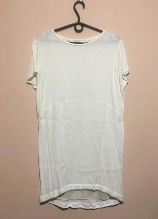 Платье zara цвета слоновой кости1