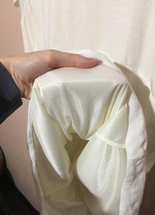 Платье zara цвета слоновой кости4