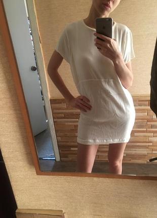 Платье zara цвета слоновой кости5