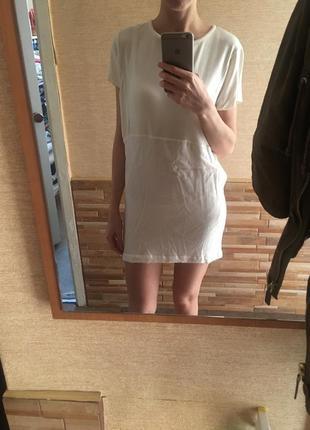 Платье zara цвета слоновой кости7