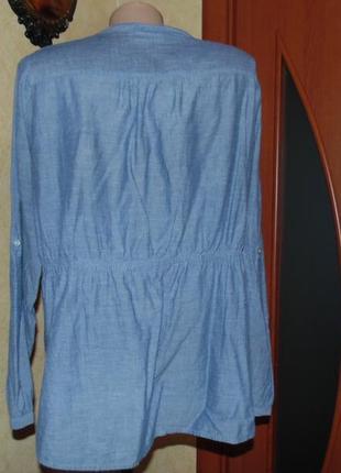 Натуральная блуза ботал!!!2 фото