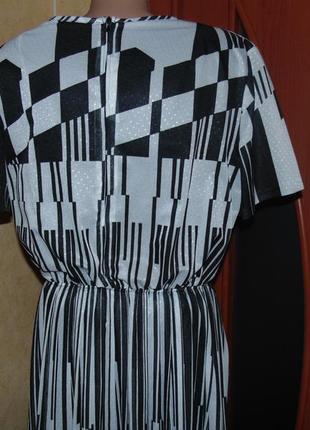 Легкое нарядное практичное платье3 фото