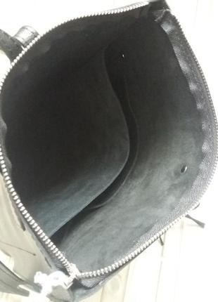 Кожаный рюкзак3