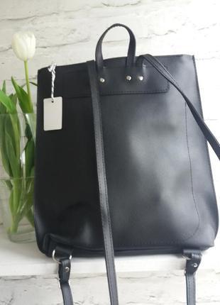 Кожаный рюкзак4