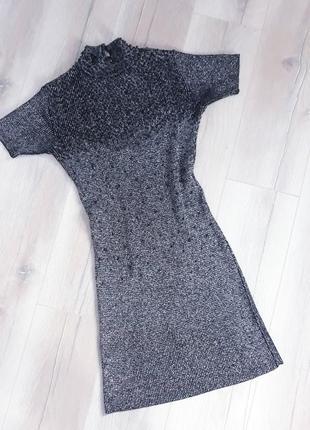 Тренд: сукня гольф з люрексом / платье гольф с люрексом3