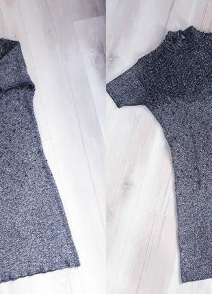 Тренд: сукня гольф з люрексом / платье гольф с люрексом5